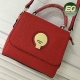 Populäre 2017 Schulter-Kurier-Beutel-echtes Leder-Handtasche für Damen Emg4819