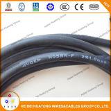 Câble en caoutchouc flexible H03rn-F de la CE 3core