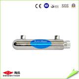 UV стерилизатор воды 14W в системе водообеспечения RO