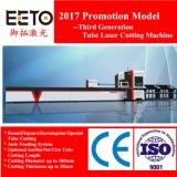 auto cortador do laser da fibra da tubulação da câmara de ar de alimentação 700/1000W