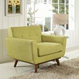Sofà moderno della mobilia del salone, sofà di svago del sofà del tessuto
