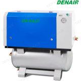 Tipo de desplazamiento Industrial Textil libre de aceite y el compresor de aire a 8,5 bar