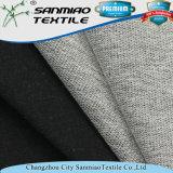 Il nero Terry francese di prezzi di fabbrica dello Spandex del cotone che lavora a maglia tessuto lavorato a maglia per i jeans