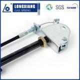 Mola de gás Lockable da alta qualidade de prata da cor com braçadeira