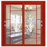 ألومنيوم يلوّن زجاج ينزلق [كيتشن كبينت] خزانة ثوب أبواب بالجملة