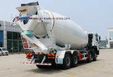 8X4 트럭 35 톤 시멘트 믹서 트럭 HOWO 15 M3 콘크리트