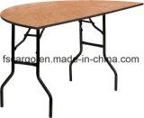 60'' Half-Round bois Table de Banquet de pliage (TBC1623)
