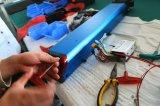 Bicicleta eléctrica dobrável de 12 polegadas com baterias de lítio Panasonic ocultos