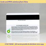Impressão de cores completas Cr80 Plastic Magnetic PVC Card