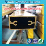 Markt-Aluminiumprofil-meistverkauftes Fenster-Tür-Produkt Libyen-Liberia