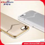 La Banca portatile di potere della cassa della clip della parte posteriore del diamante per il iPhone 6s con RoHS