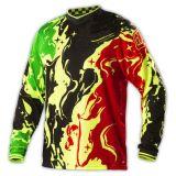 屋外のモトクロスの衣類のオートバイのジャージをカスタム設計しなさい