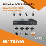 CCTV Security 4CH Ahd 720p 4PCS Dome Camera DVR Kit Mvt-Kah04D