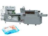Empaquetadora de la almohadilla de papel mojada automática del tejido