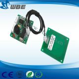 13.56MHz módulo del programa de lectura de la tarjeta inteligente del Hf Embeded RFID