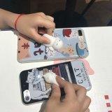 nettes weiches Silikon3d poke-Squishy Katze-Telefon-rückseitiger Deckel