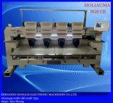 Machine industrielle principale de broderie de l'ordinateur quatre pour la broderie de fonction de Mulit de vêtement du chapeau 3D