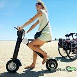 シートが付いている折る電気移動性のスクーター