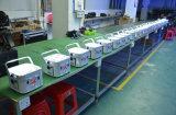 licht van het PARI 12PCS6in1 Rgbwauv van de LEIDENE Batterij van DMX het Draadloze