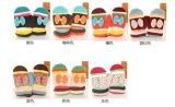 Перчатки младенца Mitten зимы жаккарда с смычками