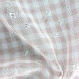 Motif coloré treillis teints pour la vente de tissu de polyester