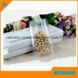 Sac en plastique fait sur commande de conditionnement des aliments de vide de catégorie comestible