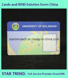 O cartão de permissão do trabalho pode ser imprimido com o código de barras para o trabalho