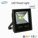 luz de inundación de 100W LED con Epistar para la iluminación al aire libre