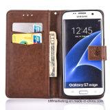 Край Samsung S8/S8plus/S7/S7 аргументы за бумажника выбитой кожи/край etc примечания 5/S6/S6