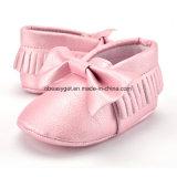 La huche molle de Bowknots de gland de Soled de filles de bébés garçon chausse les mocassins Esg10213 d'unité centrale