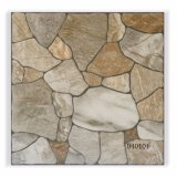 azulejo de suelo de cerámica esmaltado rústico de 400X400m m para el material de construcción (8D406)