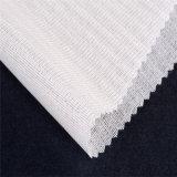 El 50% el Polyester+50% Fusbile que interlinea tejido aplicado con brocha viscosa
