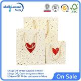 Напечатанный таможней бумажный мешок подарка для упаковывать дня Birhday Valentine