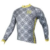 Сделанный по образцу серый задействуя Джерси покрывает куртка длинней втулки людей Breathable