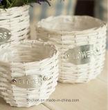(BC-WF1022) hecho a mano puro natural del sauce cesta de la flor