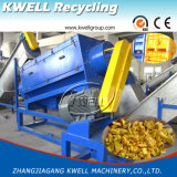 HDPE PP Pipes Recycling Machine / HDPE Bottle Recycling Line