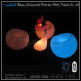 Colores de plástico recargable de plástico Shell LED