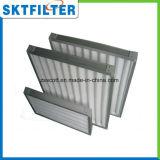 Filtro dell'aria con i media del poliestere per i sistemi di ventilazione centrali