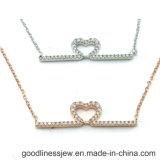 Il modo ha creato la collana d'argento 925 con gli accessori di modo (N6867)