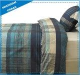 型の格子縞デザイン羽毛布団カバーキルトカバー