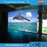 광고를 위한 실내 P2.5 임대 발광 다이오드 표시