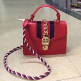 Guangzhou Factory New PU Leather Fashion Designer Women Female Tote Ladies Handbag Sy8352