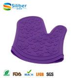Оптовая цветастая теплостойкfNs решетка, печь, перчатки силикона микроволны