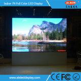 P6mm farbenreiche örtlich festgelegte LED-Innenbildschirmanzeige für das Bekanntmachen