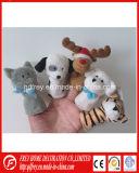 Jouet chaud de marionnette de doigt de lapin de peluche de vente avec du CE