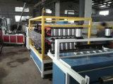 Hoja acanalada de la azotea de PVC+ASA/PMMA que hace la máquina