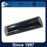 Film teint solaire de guichet de véhicule de long de garantie brouillon de noir anti