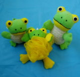 Promotion Sisal Rabbit Animal Bath Sponge Baby Bath Toy