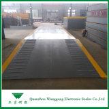 Weighbridge тележки 100 тонн для контейнера для перевозок на причале