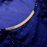 Alineada Chiffon plisada elegante de la manera de las señoras de Srta. You Ailinna 102303